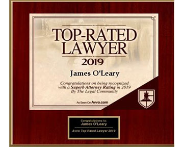 Top Rated Lawyer - Personal Injury Law Office of James O'Leary
